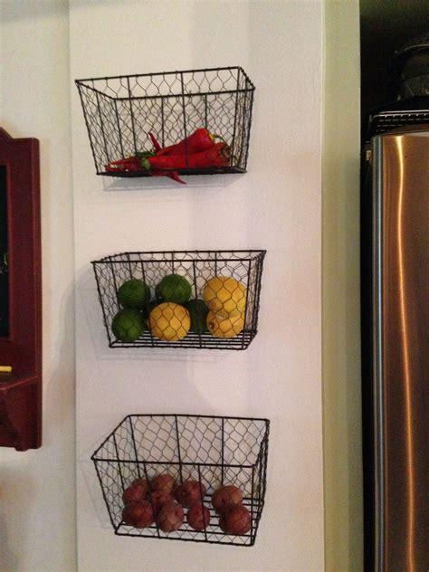 vegetable baskets  kitchen wooden vegetable rack