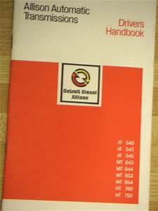Allison Transmission Parts Diagram Manual Mt 643