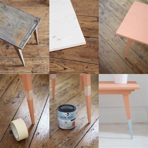 une table basse vintage color 233 e diy shake my