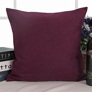 what is the best throw pillow burgundy out there on the With best pillow out there