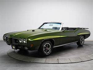 1970  Pontiac  Gto  Judge  Convertible  4267  Muscle