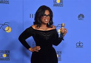 Golden Globes 2018: Social Media Wants Oprah for President ...