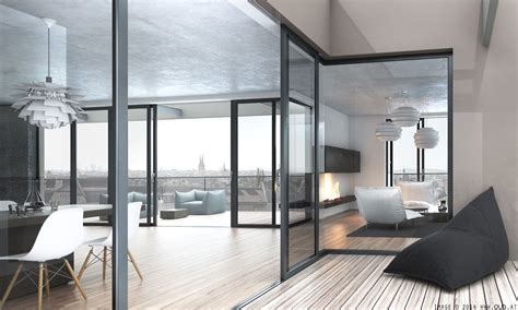 Modern Apartment For A Visualized by Penthouse We Visualized For Soravia On Behance