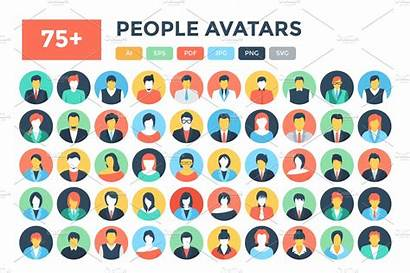 Icons Avatar Flat Avatars Graphics
