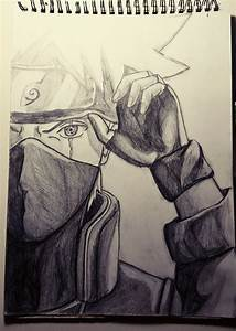 Kakashi, sharingan. Pencil drawing | learning to draw ...