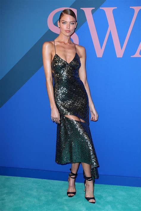 Martha Hunt Red Carpet Cfda Fashion Awards New