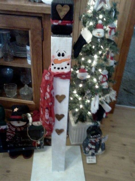 ideas for decorating iron fence posts for christmas snowman made out of fence post crafts snowman and craft