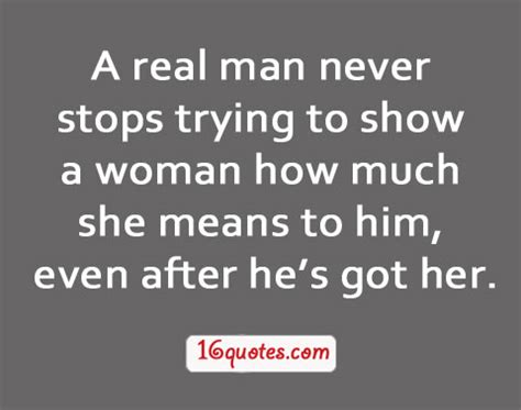 A Real Woman Loves Her Man Quotes