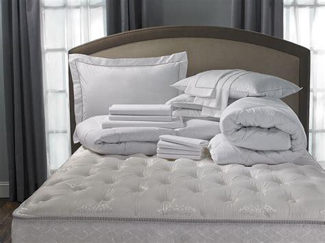 hotel stripe bed bedding set hilton to home hotel