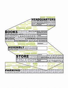 Sectional Program Diagram Of Seattle Central Library  Oma