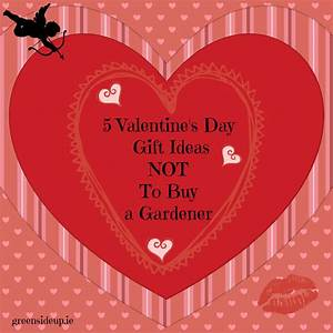 5 Valentines Day Gift Ideas NOT To By A GardenerGreenside Up