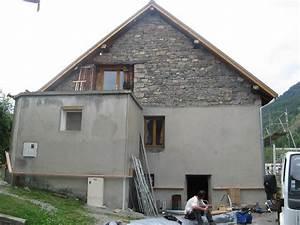 Isolation Extérieure Bois : isolation ext rieure structure bois laine de bois ~ Premium-room.com Idées de Décoration