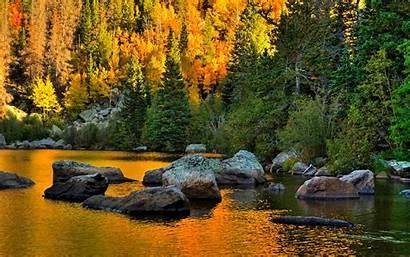 Rocky Mountain Desktop National Park Wallpapersafari Fall
