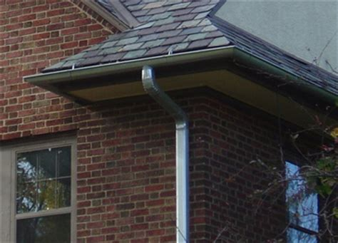 Galvanized Steel Gutters Value Added Building