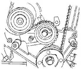proper position of the water pump on a suzuki forenza With 2004 suzuki forenza timing belt diagram moreover suzuki forenza timing