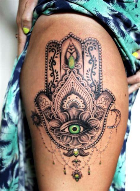 tatouage femme cuisse 1001 id 233 es cuisse 48 tatouages de caract 232 re