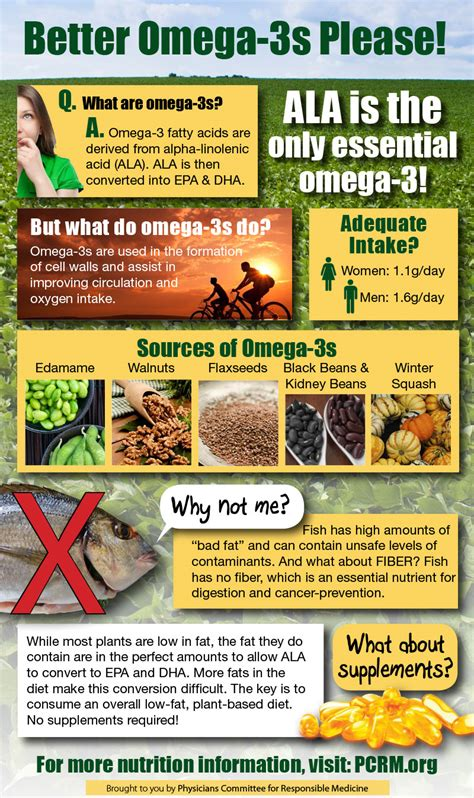 suplemen omega 3 get omega 3s from plants not fish the physicians