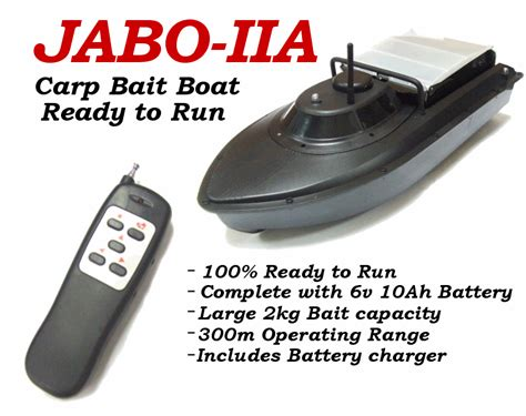 Bait Boat Radio Gear by Carp Bait Boat Jabo 2 Radio Control Bait Boat Second Hand