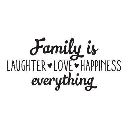 family is laughter love happiness wall quotes decal wallquotes com