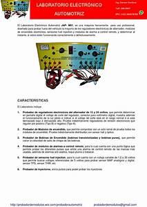 Probador Automotriz By Probador Electronico Automotriz