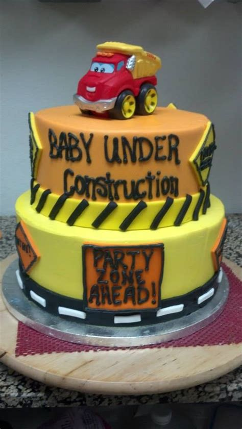 construction baby shower cake yelp