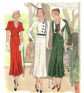 History Of Fashion - 1930's