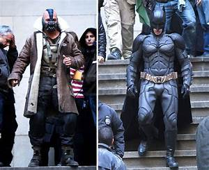 Tom Hardy on The Dark Knight Rises Set Pictures | POPSUGAR ...