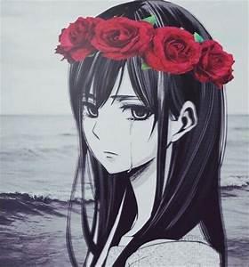 Gallery: Anime Girl Tumblr Sad, - DRAWING ART GALLERY