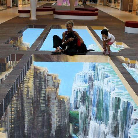 3d fußboden bilder hamburger meile street art boden 3d boden stra 223 enmalerei malerei und streetart