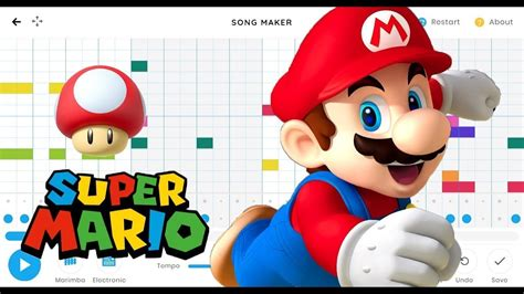 All other experiments on chrome music lab follow a similar pattern. Super Mario Bros. - Main Theme - Chrome Music Lab - (Link ...