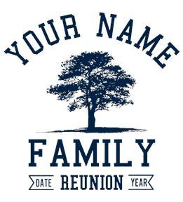 family reunion logo templates family reunion t shirt design ideas and templates
