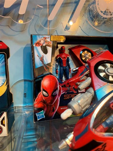 spider man   home toy reveals  mystery suit