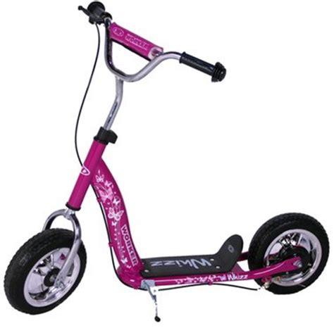 roller mit großen rädern kinder roller scooter whizz tretroller lila 10 quot kinderroller preis roller f 252 r kinder
