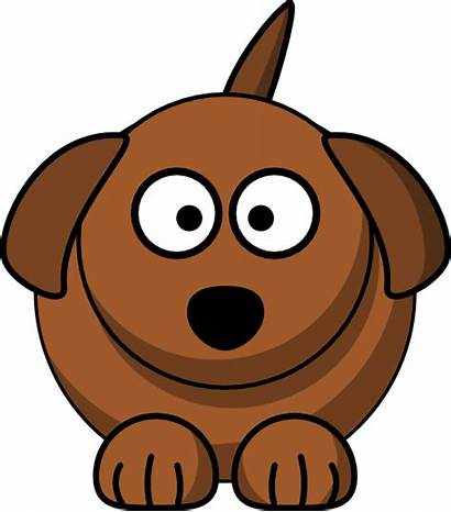 Dog Cartoon Clipart Bone Dogs Clip Clker