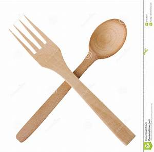 Wooden Spoon And Fork Stock Image - Image: 37674051
