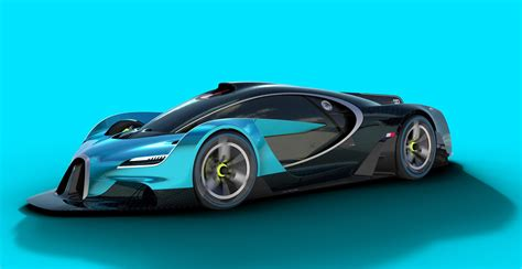 Bugatti Concept Car by Bugatti Study Makes The Chiron Seem Bland Carscoops