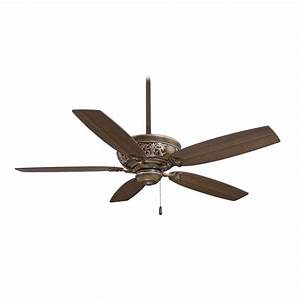 Ceiling fans without lights minka : Ceiling fan without light f bcw destination lighting