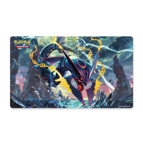 Pokémon Tcg Shiny Mega Rayquaza Playmat  Pokémon Tcg