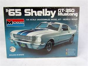 Monogram '65 Ford Shelby Mustang GT-350 1/24 Scale Model Kit SEALED 1965 #2700 #Monogram ...