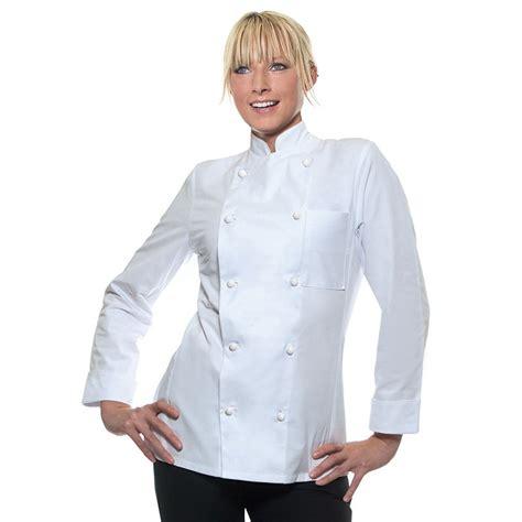 fourniture cuisine professionnelle veste de cuisine femme agathe manches longues vestes
