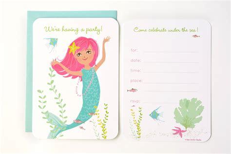 free mermaid invitation templates mermaid invitations invitations templates