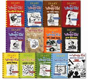 Diary Of A Wimpy Kid Collection 13 Books Set Old School