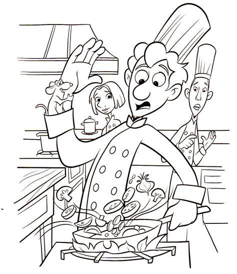 dessin de cuisine sélection de dessins de coloriage cuisinier à imprimer sur