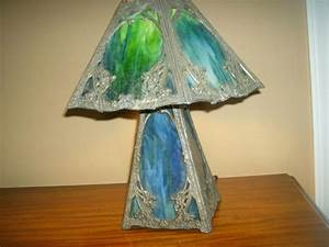 1000+ images about slag glass on Pinterest Glass lamps