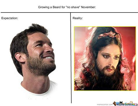 No Shave November Meme Quot No Shave Quot November By Asmooth Meme Center