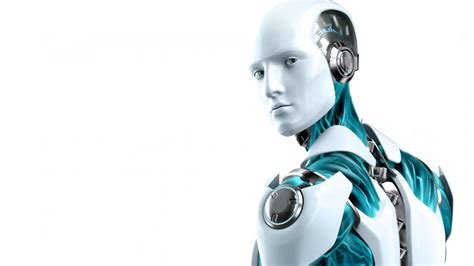male robot  desktop hd wallpaper