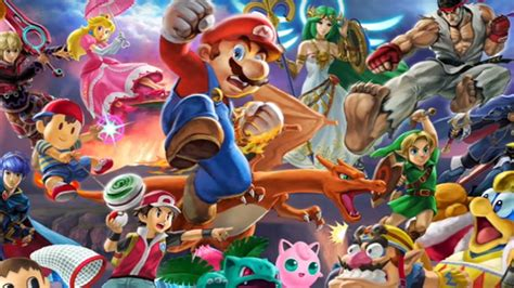 super smash bros ultimate banner characters images