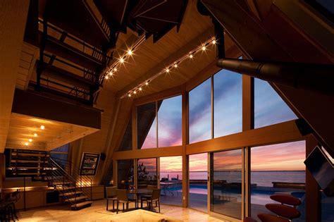 storey  frame vacation beach house idesignarch interior design architecture