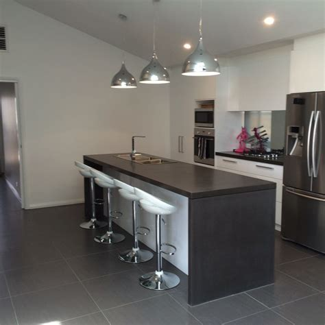 concrete island kitchen 76 best polished concrete kitchen island benchtops 2424