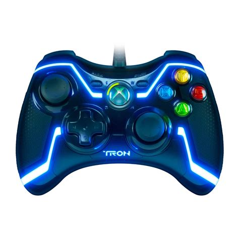 Tron Wired Controller For Xbox 360 ~ Crazy Cool Gadgets